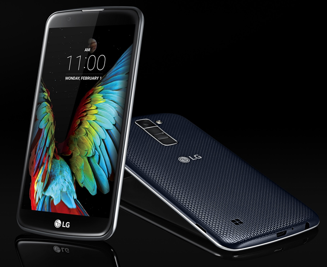LG Announces New Mid-Range K7 And K10 Android Phones, Successors To The L Series, Before CES