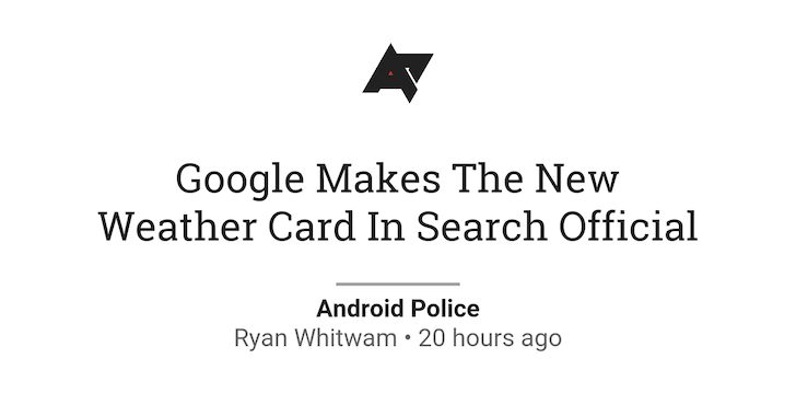 Google Play Newsstand Gets A New Cleaner Article Layout