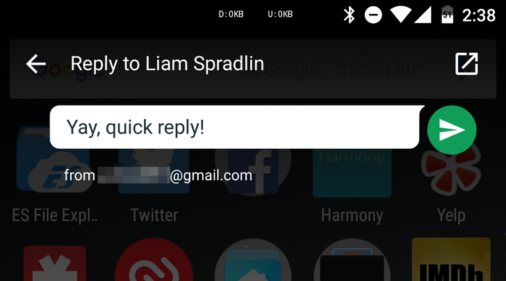 Hangouts v7.0 Is Rolling Out With Quick Reply, A Suspicious Google Messenger SMS Pop Up, And More [APK Download]