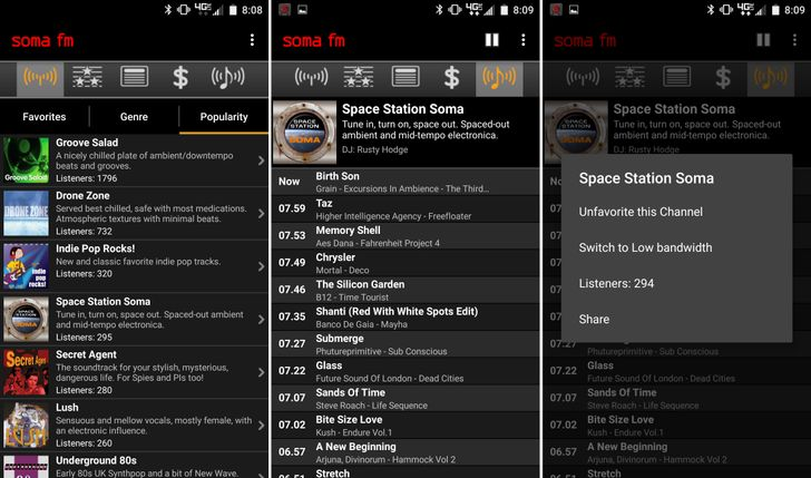 Streaming Music App SomaFM Has Gone Free In The Play Store