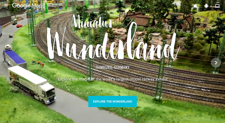 [Go Small Or Go Home] Google Street View Tours The World's Largest Model Railway 'Miniatur Wunderland'