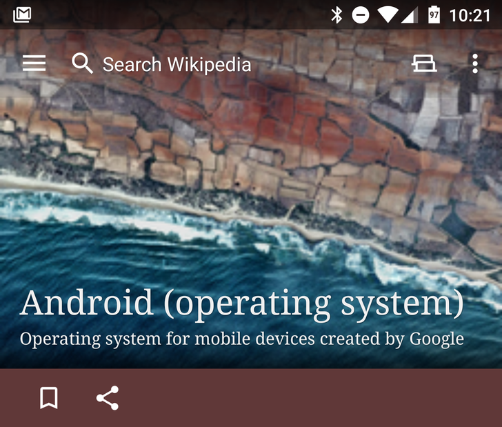 Wikipedia App Updated With Quick Access Toolbar, Better Memory Management, And More