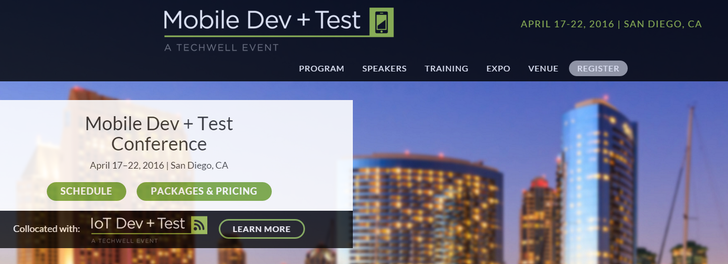 Attend Mobile Dev + Test April 17–22 In San Diego, Featuring In-Depth Android Development Tutorials And Sessions [Sponsored Post]