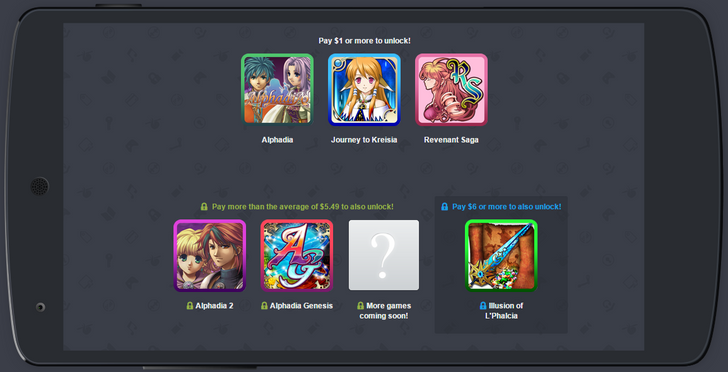 New Humble Mobile Bundle Offers All The Kemco JRPG Action You Can Handle