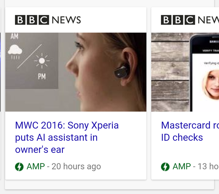 Google Begins Marking AMP-Enabled Sites With A Green Circle And A Lightning Bolt