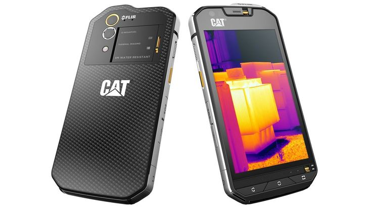 The Cat S60 Is The First Phone With A FLIR Thermal Camera Built-In