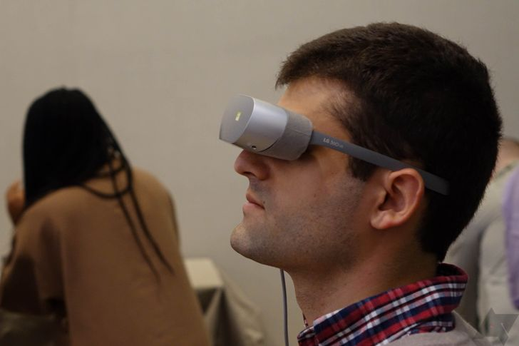 Hands On With The LG 360 VR Headset