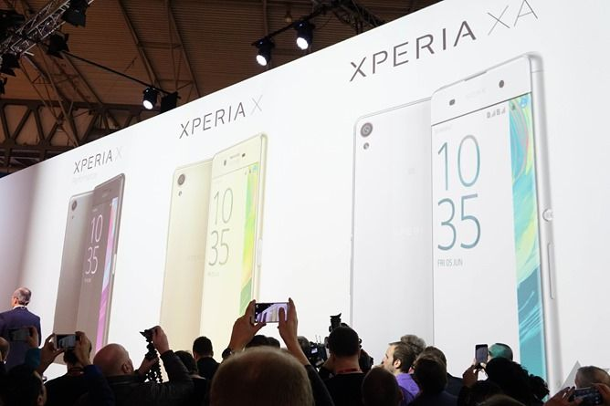 Sony Announces Xperia X, XA, And X Performance At MWC 2016 (Hands-On)