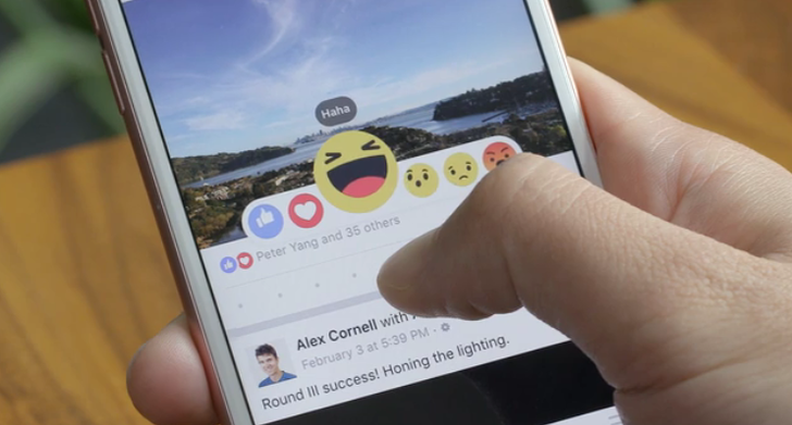 Facebook Goes Beyond The Like Button, Now Has Reactions