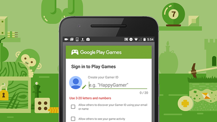 Google Is Rolling Out Custom Gamer IDs To Google Play Games