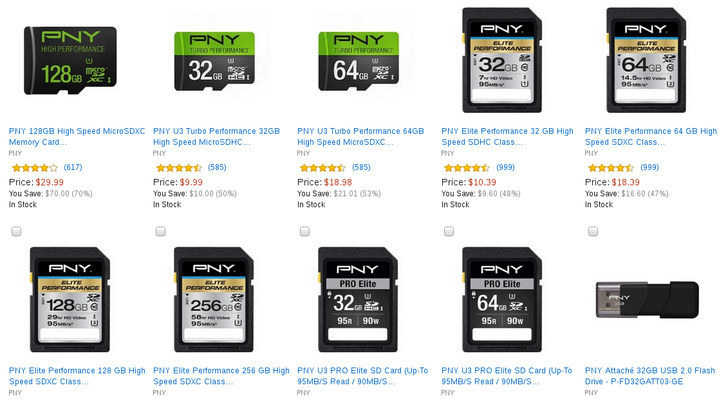 [Deal Alert] PNY MicroSD Cards And Other Flash Memory Up To 70% Off For Today's Amazon Deal Of The Day