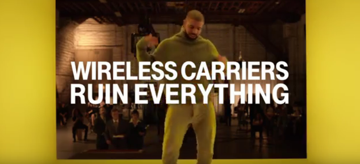 T-Mobile Releases 30-Second Super Bowl Ad About How Other Carriers Would Butcher Drake's Hotline Bling