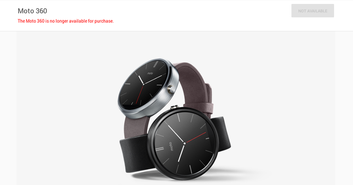 The Google Store Stops Selling The Original Moto 360 And Sony SmartWatch 3