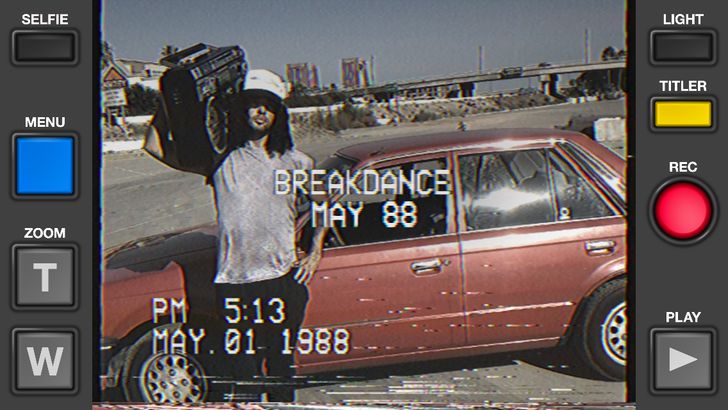 VHS Camcorder App Enters The Play Store So You Can Record Crappy Video Like It's The 80s