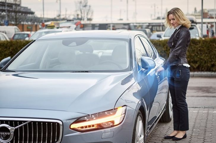 Volvo Wants To Replace Your Key Fob With A Smartphone App And Bluetooth