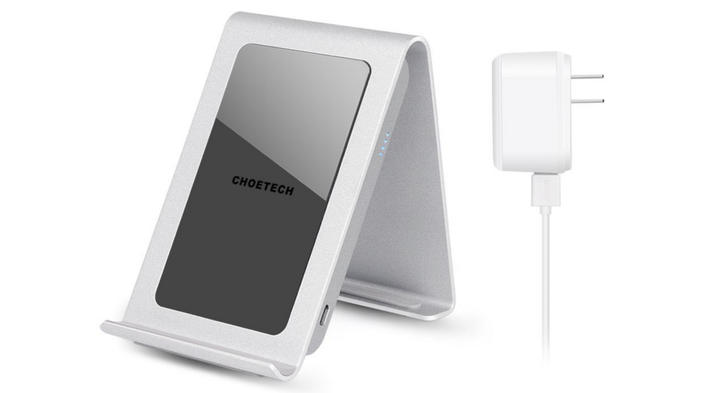 [Deal Alert] Grab An Aluminum Three Coil Choetech Charging Stand + 2A Power Supply For $27.99 After $8 Off CC At Amazon