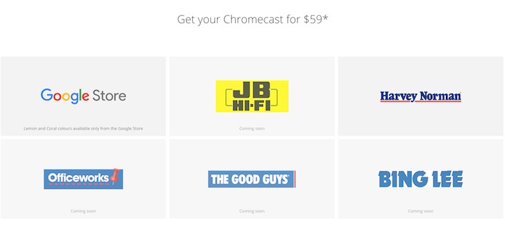 [Update: South Korea, Japan] Chromecast 2015 And Chromecast Audio Launch In Australia And New Zealand For $59 AUD And $69 NZD Respectively