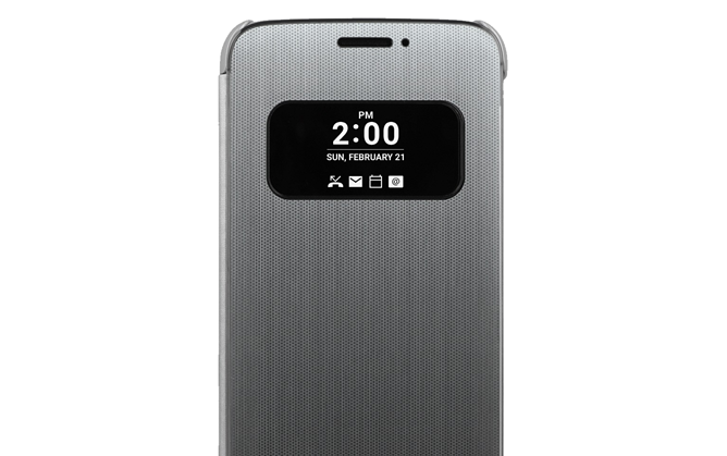 LG Announces A Fancy Touch-Enabled Cover For The G5 Before The Phone Itself