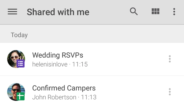 [Update: APK Download] Google Drive Gets Better Contextual Menus, Access To Trash, And Avatars For Shared Files