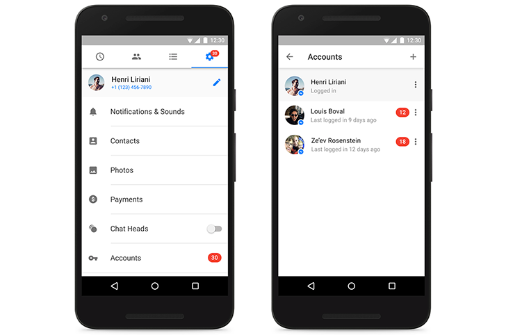 Facebook Messenger's Multiple Accounts Are Official On Android, Privacy Features Included