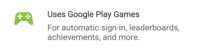 Google Play Games Logo Appears In Play Store Listings To Indicate Supported Games
