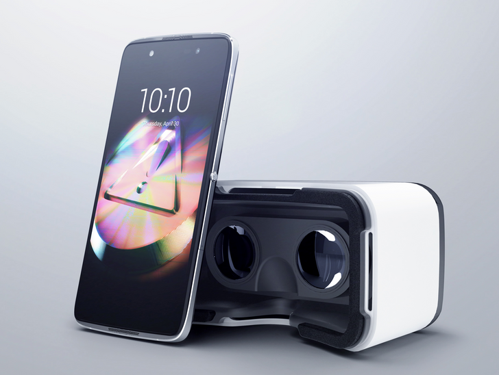 The New Alcatel OneTouch Idol 4 And 4S Are Packaged Inside A VR Headset