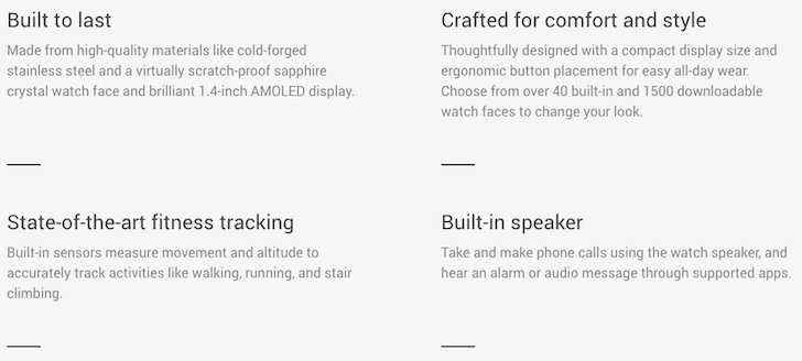 [Update: ASUS ZenWatch 2 Too] Google Store Finally Recognizes The Built-In Speaker Of The Huawei Watch — Android Wear Update Imminent?