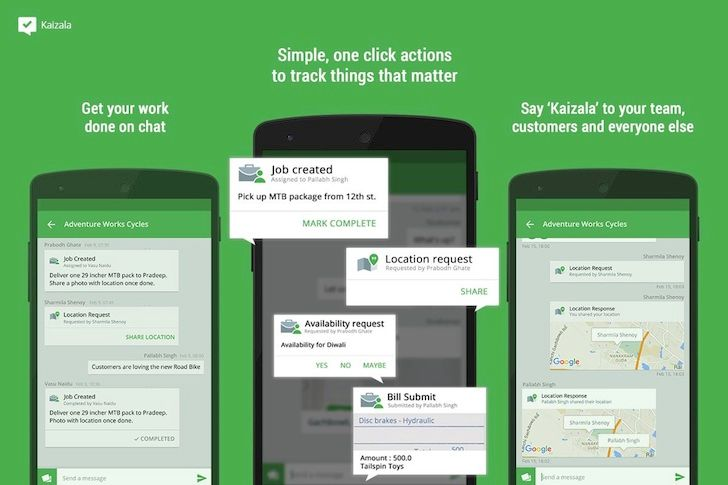 Microsoft Garage Releases Sprightly And Kaizala To The Play Store, Catering To Small Business Owners And Teams