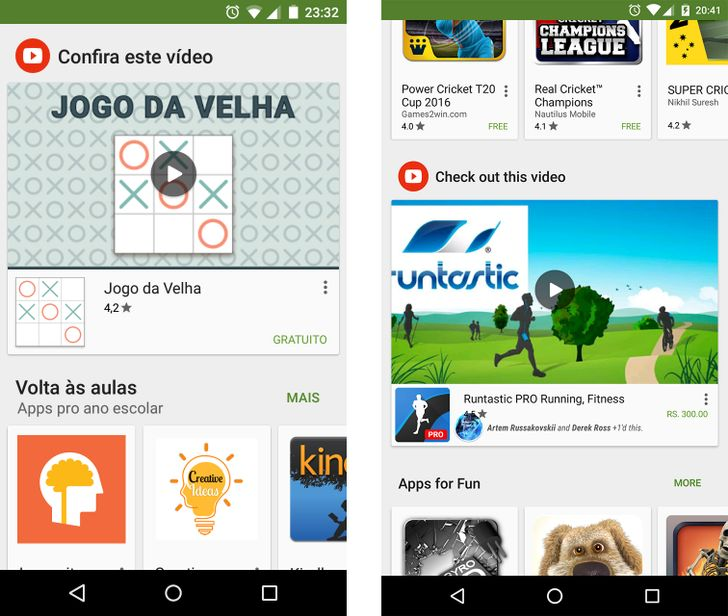 Some Users Are Seeing App And Game Promo Videos In The Play Store's Main Screen