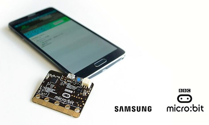 Samsung's BBC micro:bit Android App Helps You Flash Code To The System Via Bluetooth