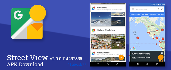 The Latest Street View Update Offers Notifications For New Collections, An Updated Interface, And Better Integration With Spherical Cameras [APK Download]