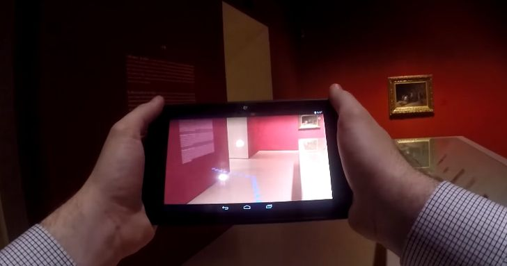 Google And Lenovo Take Over Barcelona Museum To Demo Project Tango