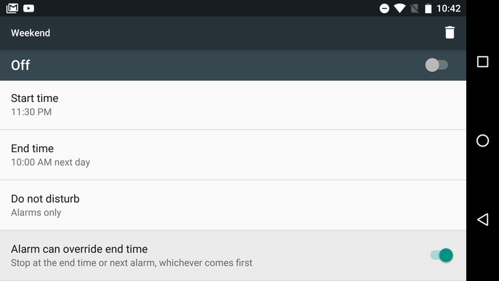 Android N Feature Spotlight: Do Not Disturb Automatic Rules Get Option To End DND On Next Alarm
