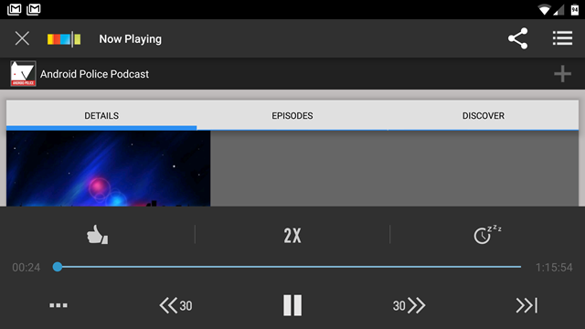 Stitcher Radio Podcast Manager Updated With Variable Speed Playback (But Only For Marshmallow) And Bug Fixes