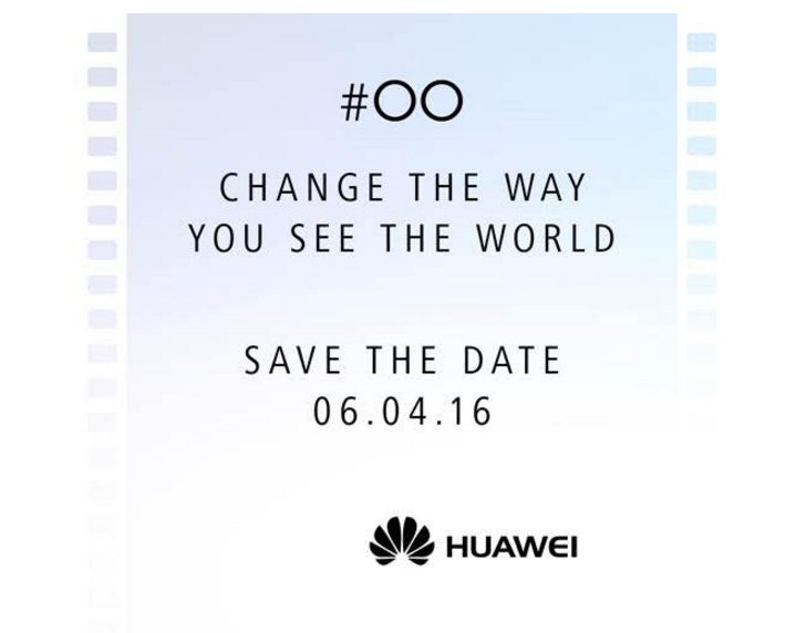Huawei Announces Event On April 6th, Probably For The P9