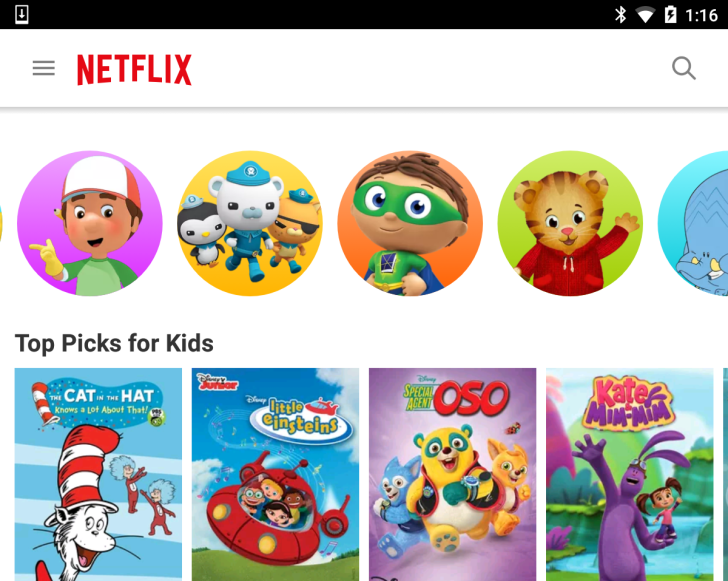 Netflix 4 3 Update Delivers A Brighter Experience For Kids