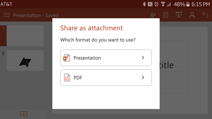 Microsoft Adds PDF Export, Direct-From-Camera Picture Insertion, And RTF Support To Office Apps For Android In Latest Updates