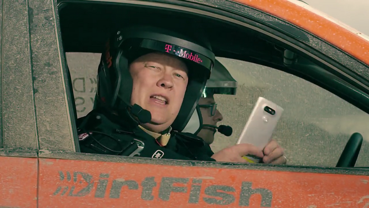 T-Mobile Hits A Rally Track To Unbox The LG G5 And Show Off Some Accessories