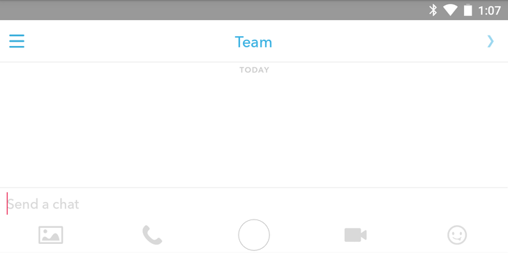 Snapchat 9.27 Weaves Together Text, Photos, Audio, Video, And GIFs For Chat 2.0