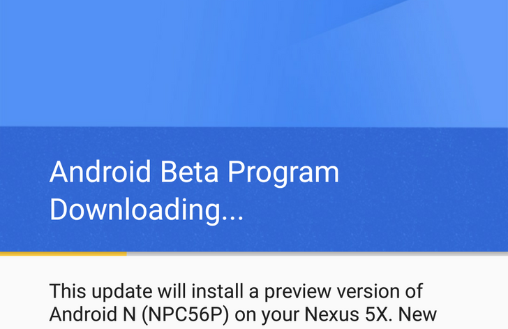 PSA: Don't Flash The Android N System Image If You Want To Receive OTA Updates [Update: Google Confirms You Can Get OTAs]