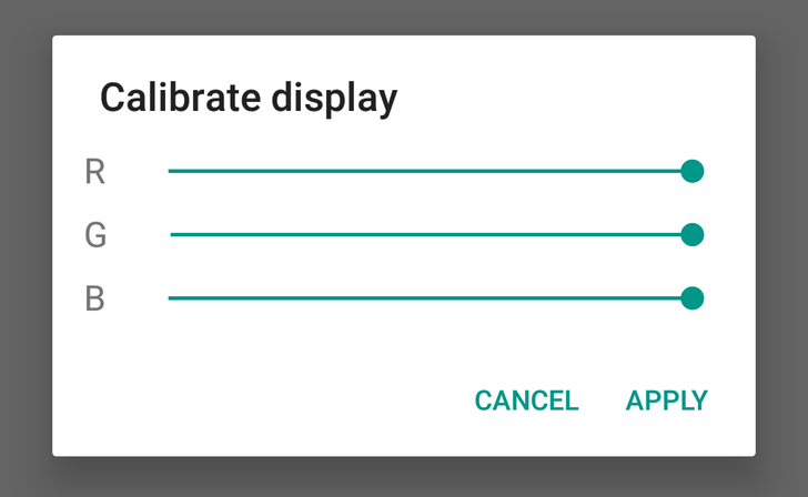 Android N Feature Spotlight: Color Balance Calibration Now Available In System UI Tuner