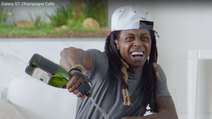 [Actually Quite Funny] Three New Samsung Galaxy S7 Commercials Starring Lil Wayne & Wesley Snipes Highlight Water Resistance & Gear VR