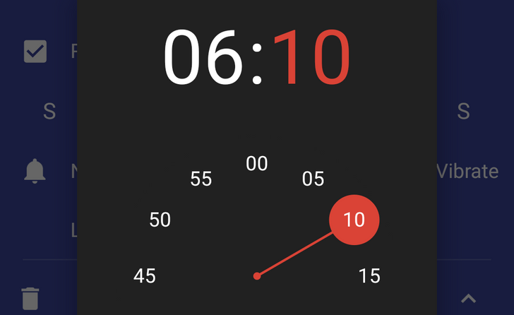 Android N Feature Spotlight: Time Picker Has A New Animation