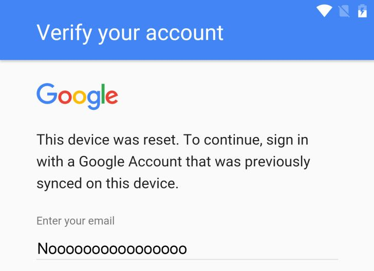 RootJunky Discovers A Super-Convoluted Factory Reset Protection Workaround On Android N