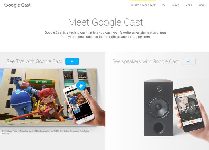 Google To Rebrand The Chromecast App As Google Cast, Updates Google Cast Website