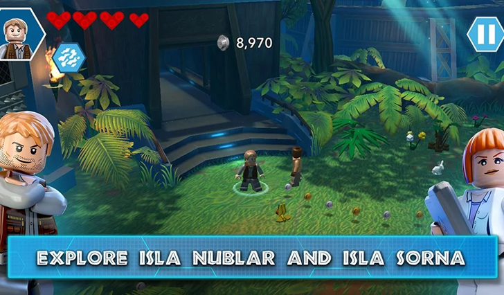 LEGO Jurassic World Lets Players Explore All Four Movies As The Real ...