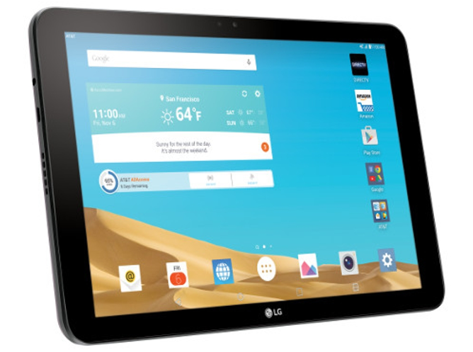 A Software Update Makes AT&T's LG G Pad X 10.1 The First Android Tablet To Support NumberSync