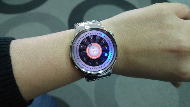 Real LED Watchface Lights Up Your Wrist And Looks Amazing