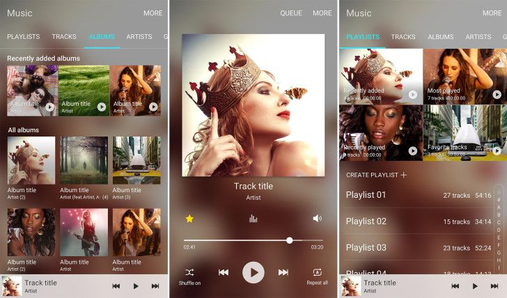 Samsung Adds Its Music App To The Play Store, Currently Only Supported On Marshmallow