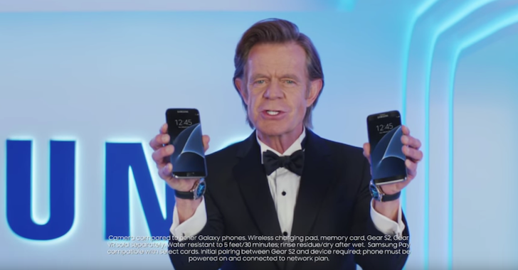 Samsung's New Galaxy S7 Commercials Are Funny, Smart, And Star-Studded